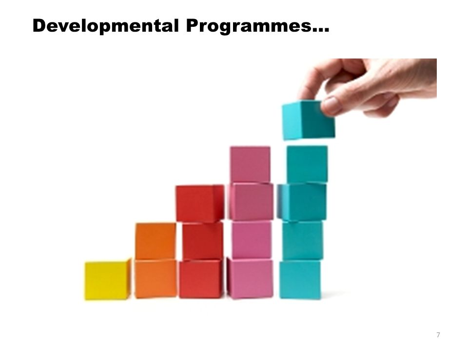 7 Developmental Programmes…
