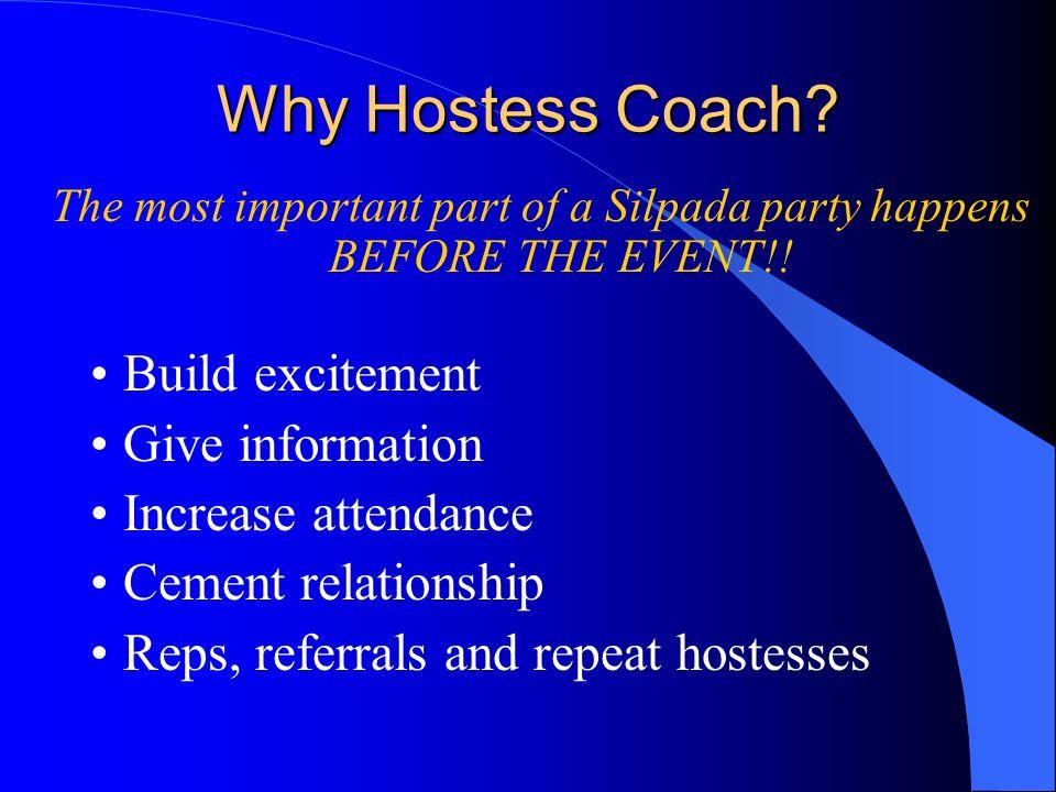 Hostess Coaching Sue Kahler