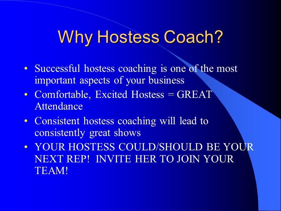 Hostess Coaching