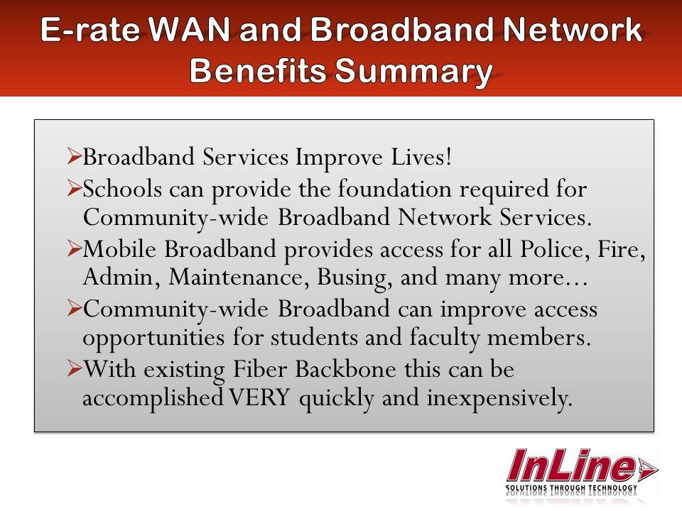 Broadband Services Improve Lives.