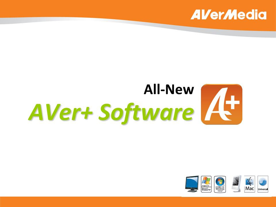 AVer+ Software All-New AVer+ Software