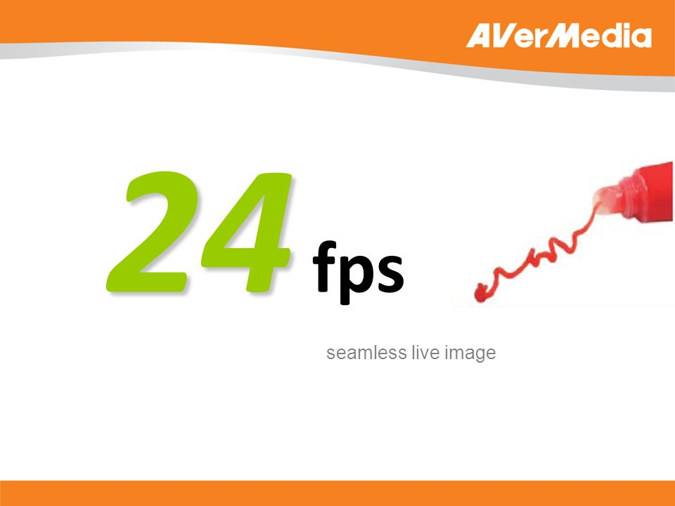 24 24 fps seamless live image