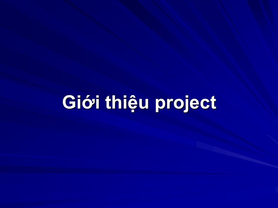 Gii thiu project