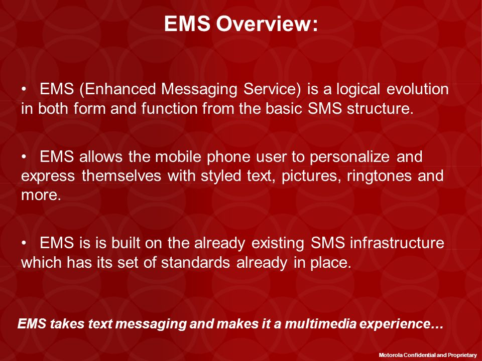 Mobile Messaging Use Cases 1.Person-to-Person: –Messaging between people in order to communicate non-verbally 3.