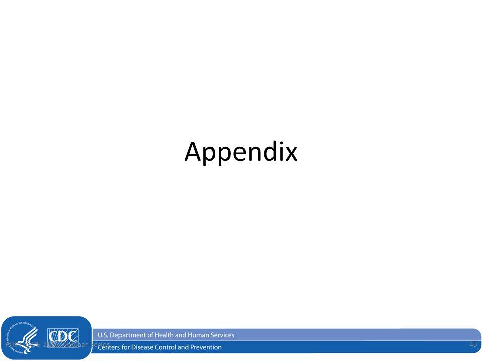 Appendix PHIN VADS2010 Webinar Series43