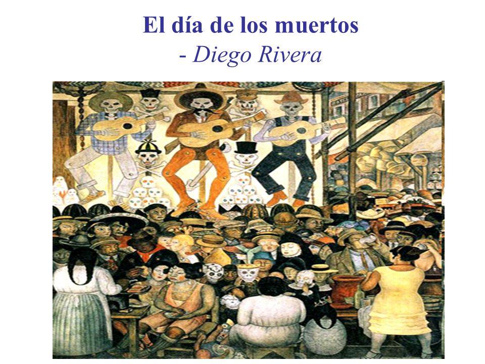 El día de los muertos - Diego Rivera