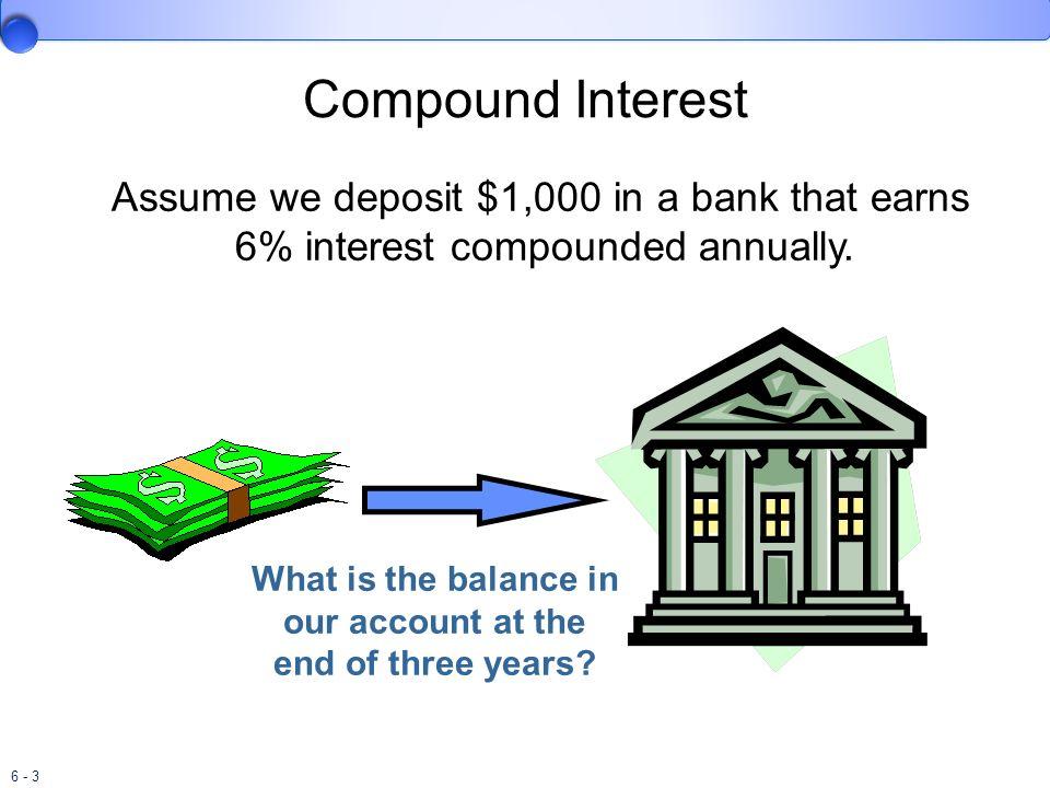 6 - 4 Compound Interest
