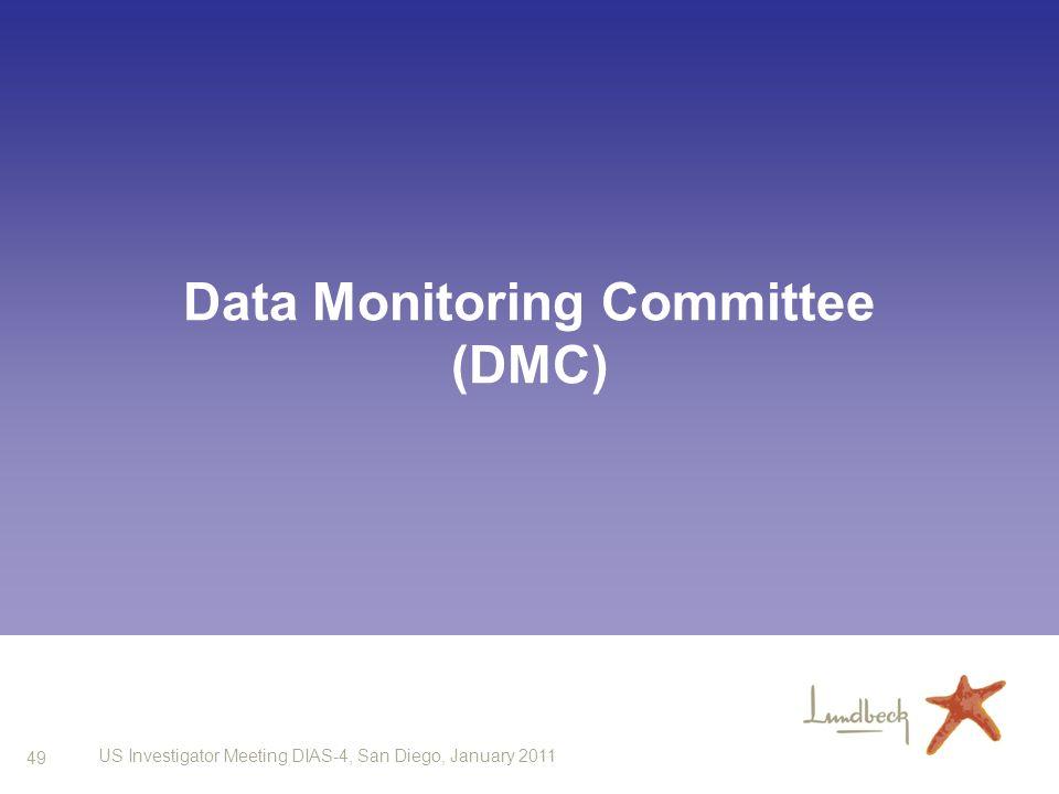 49 US Investigator Meeting DIAS-4, San Diego, January 2011 Data Monitoring Committee (DMC)