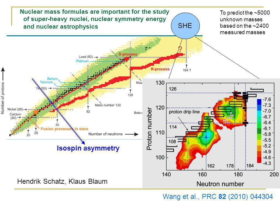 Z. M. Niu, et al., PRC 88, 024325 (2013) AME2012