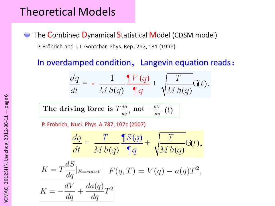Pathwise Analysis Method III YCMAO, 2012SHN, Lanzhou, 2012-08-11 page 17
