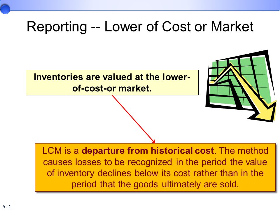 9 - 33 Dollar-Value LIFO Retail We need to eliminate the effect of any price changes before we compare the ending inventory with the beginning inventory.