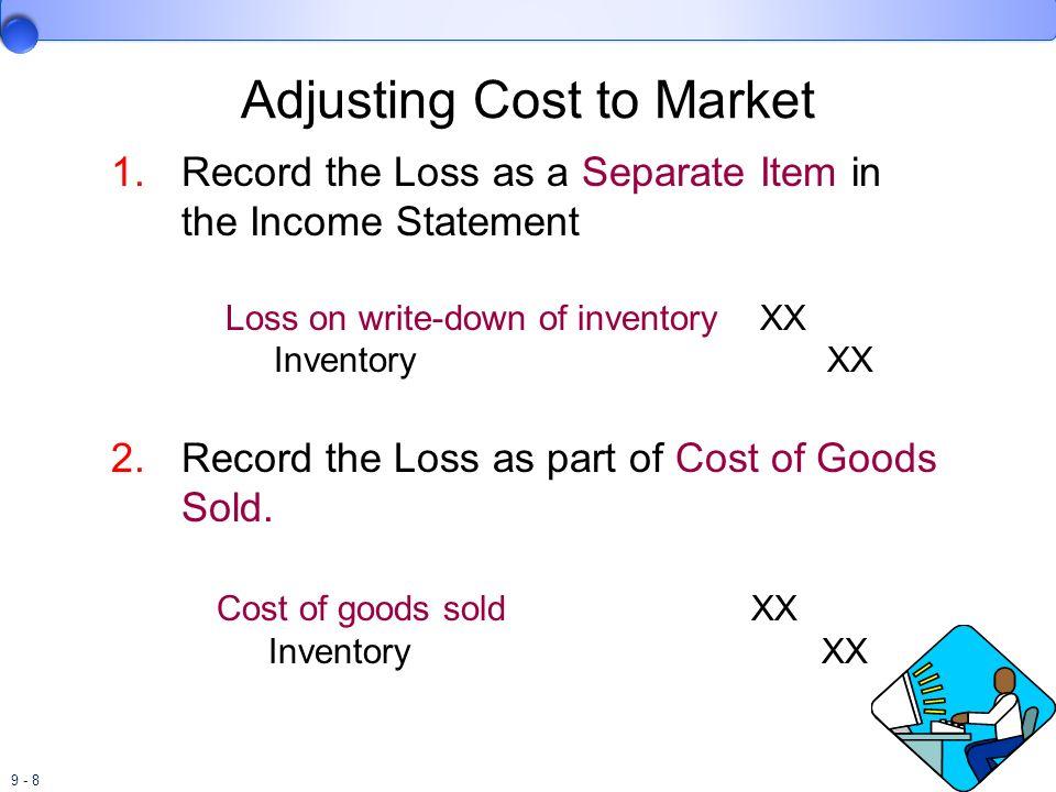 9 - 29 Retail Inventory Method LIFO Retail