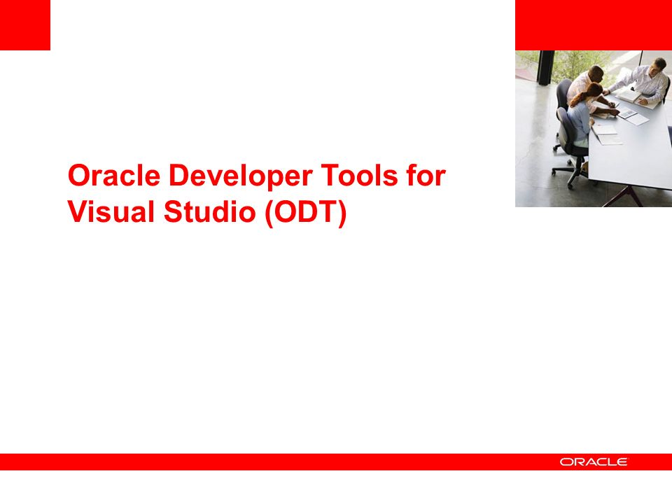 Oracle Developer Tools for Visual Studio (ODT)