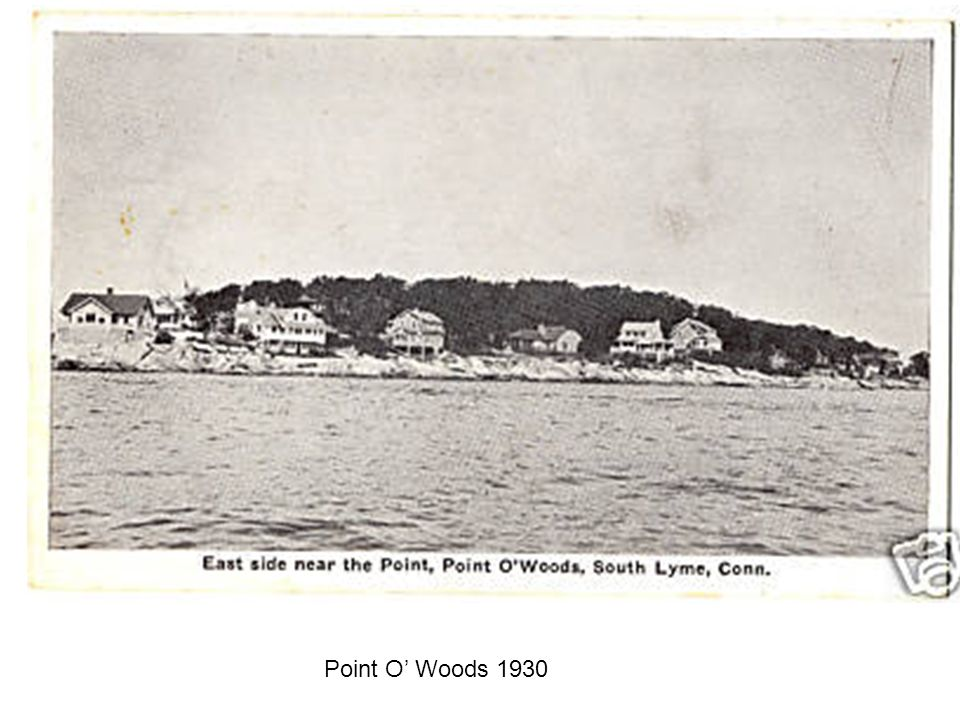 Point O Woods 1930