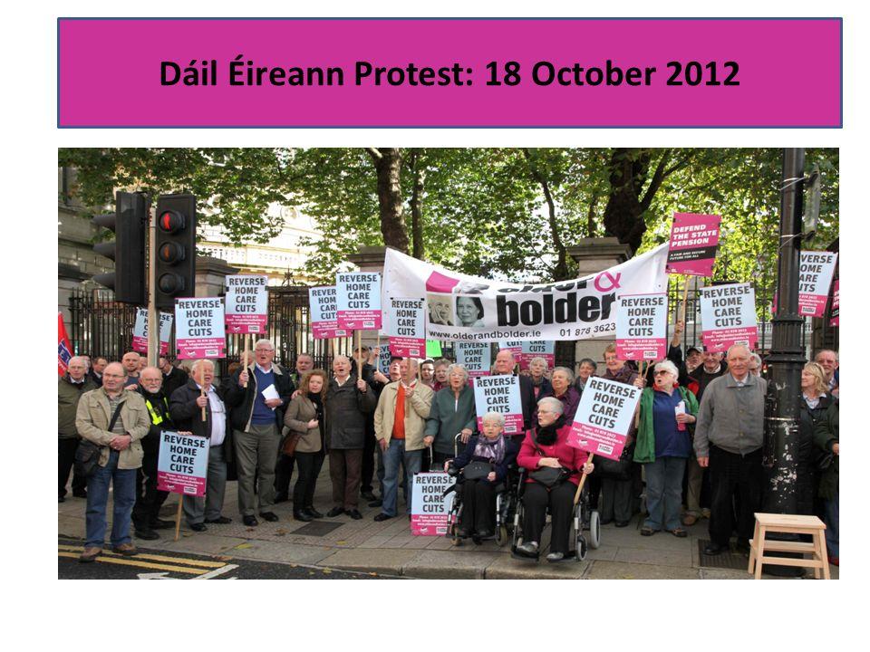 Dáil Éireann Protest: 18 October 2012