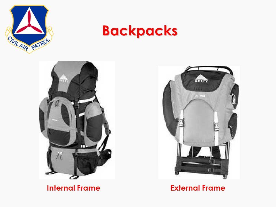 Backpacks Internal FrameExternal Frame