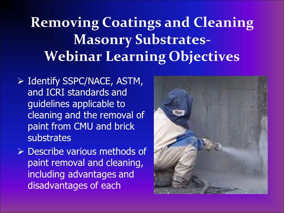 Sodium Bicarbonate Blast Cleaning – efflorescence (wet)