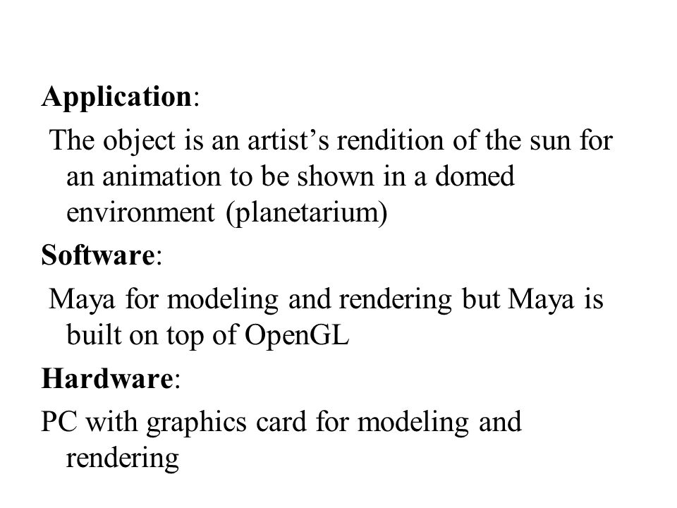 Computer Graphics using OpenGL, 3 rd Edition F.S.
