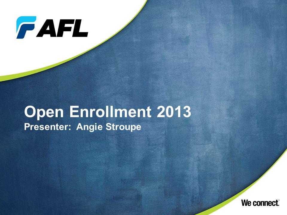 Open Enrollment Carrier Change 2013 Wellness Initiatives Benefit Summary Q&A Schedule? Agenda