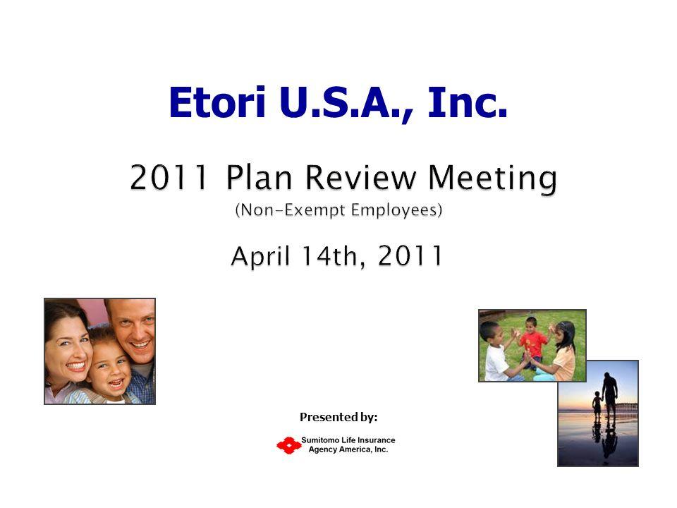 Etori U.S.A., Inc. Presented by: