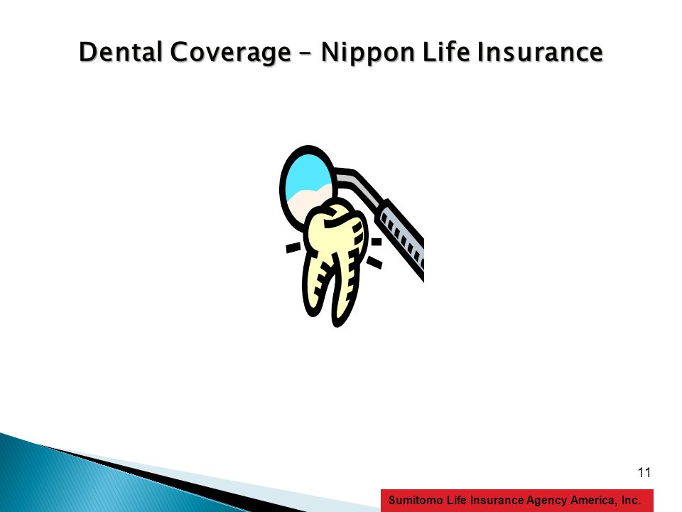 11 Sumitomo Life Insurance Agency America, Inc. Dental Coverage – Nippon Life Insurance