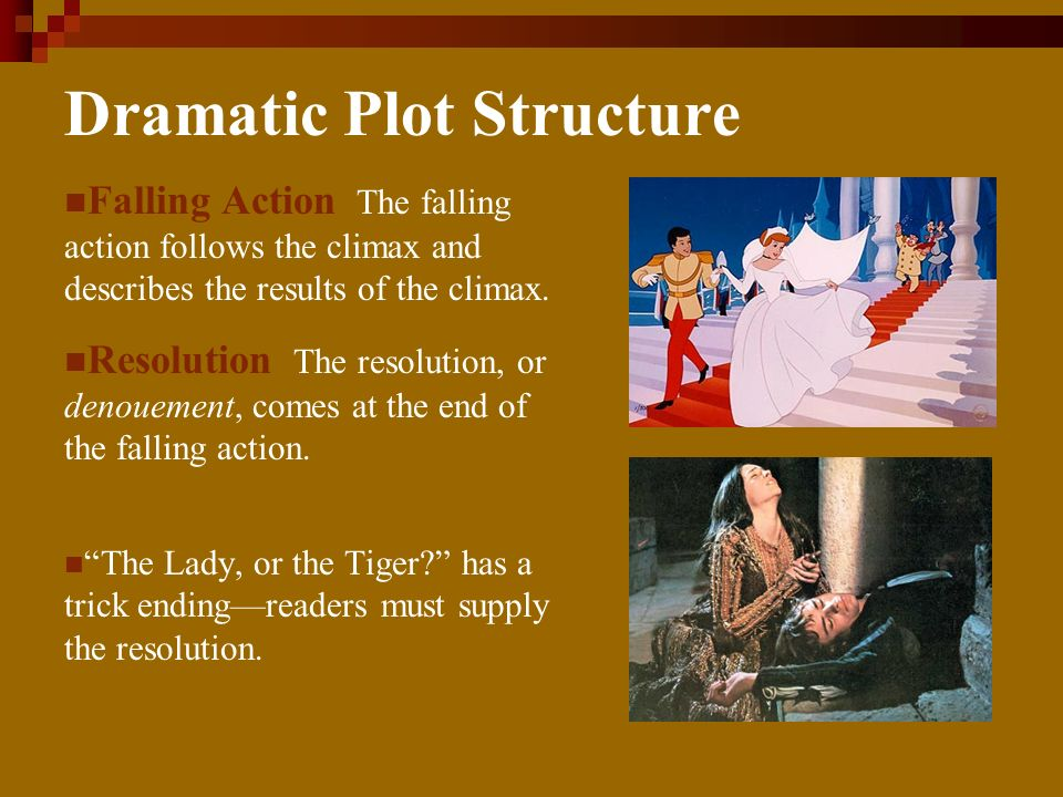 Dramatic Plot Structure Exposition During a plots exposition, the author gives background information about the story and introduces the storys charac