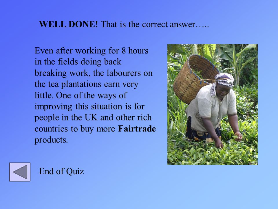 Even after working for 8 hours in the fields doing back breaking work, the labourers on the tea plantations earn very little. One of the ways of impro