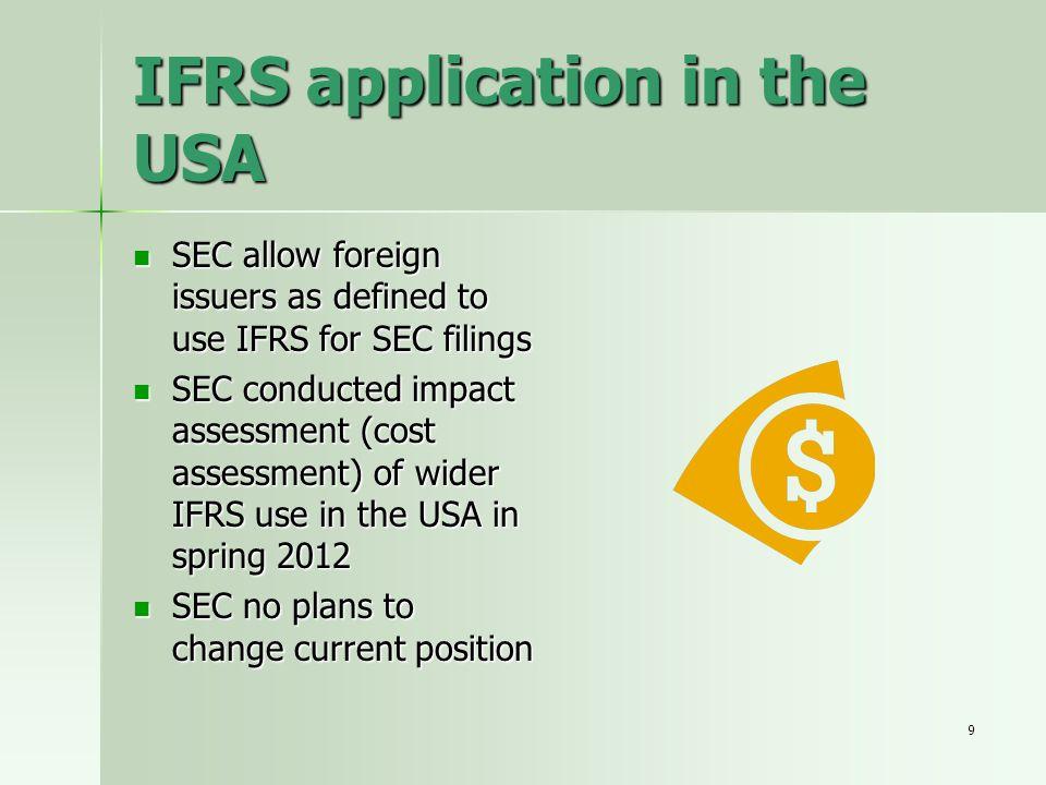 30 Categories of financial instrument – assets (IAS 39) 1.