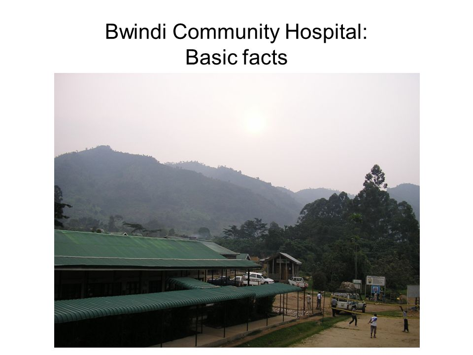 Bwindi Community Hospital: Basic facts