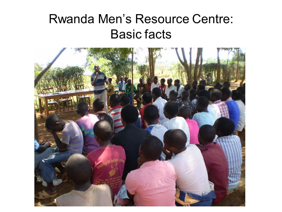 Rwanda Mens Resource Centre: Basic facts