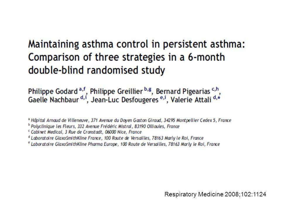 Respiratory Medicine 2008;102:1124