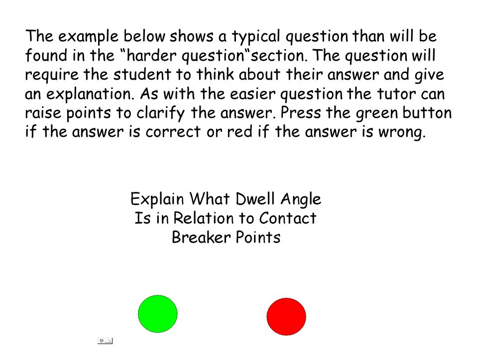 The example below shows a typical question than will be found in the harder questionsection.
