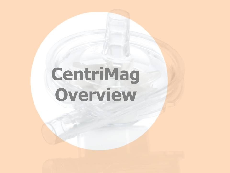 CentriMag System Components Pump Motor Console