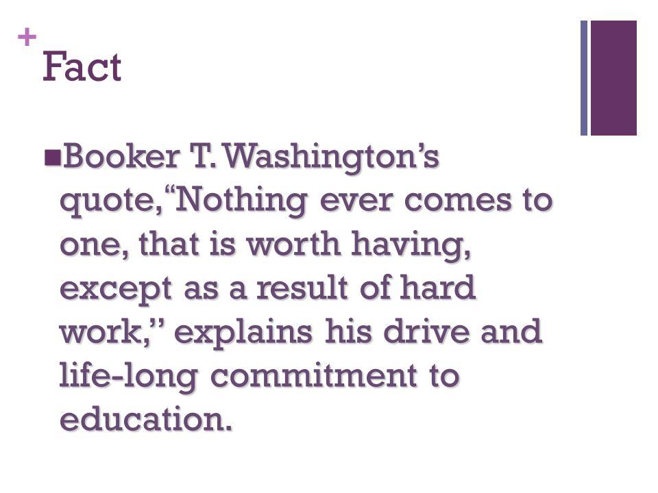 + Fact Booker T.