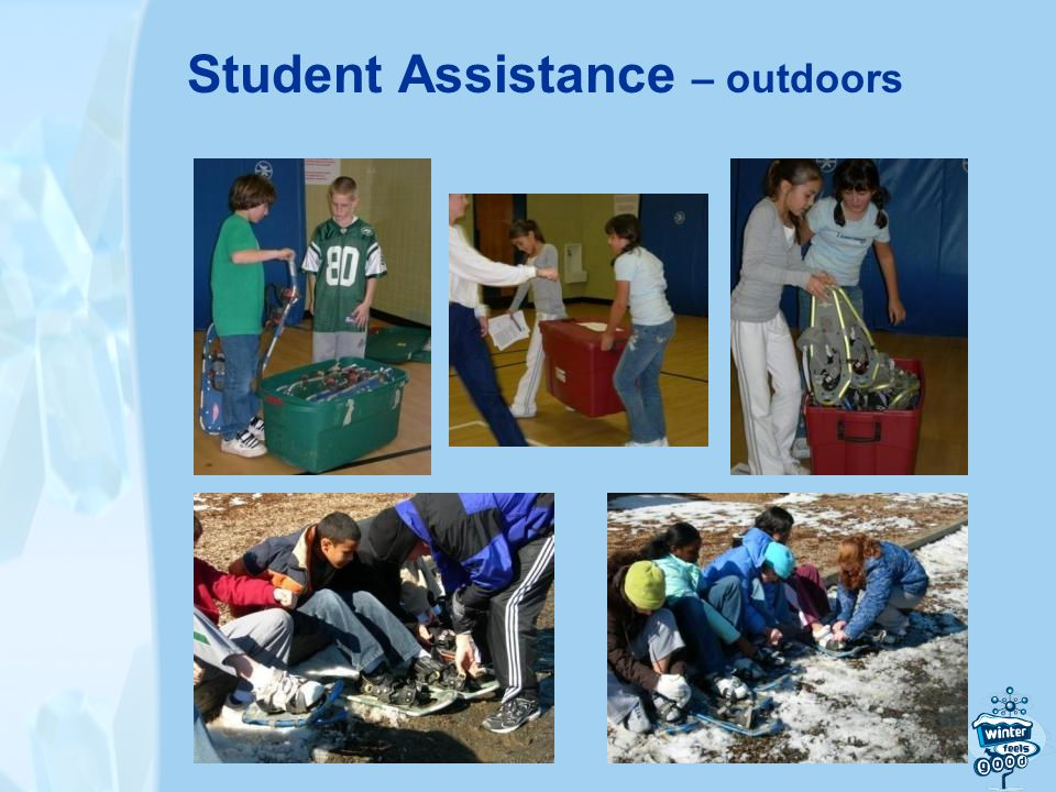 Student Assistance – outdoors