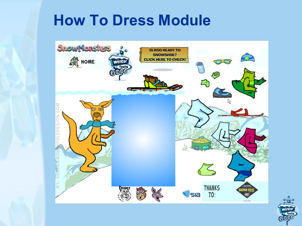 How To Dress Module