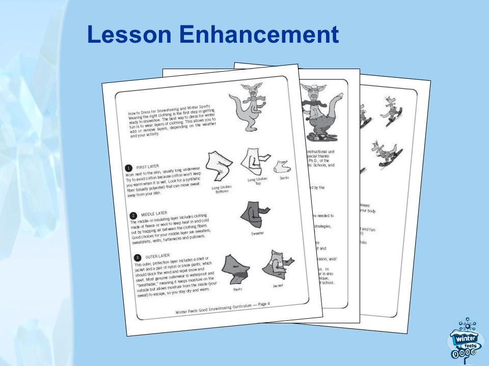 Lesson Enhancement
