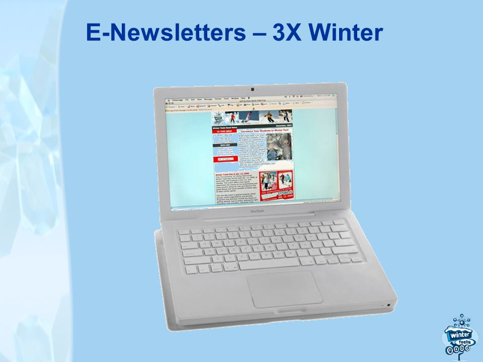 E-Newsletters – 3X Winter