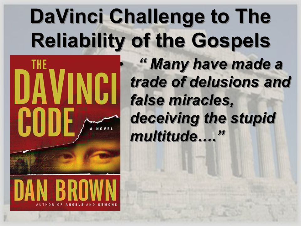 Many have made a trade of delusions and false miracles, deceiving the stupid multitude…. Many have made a trade of delusions and false miracles, decei