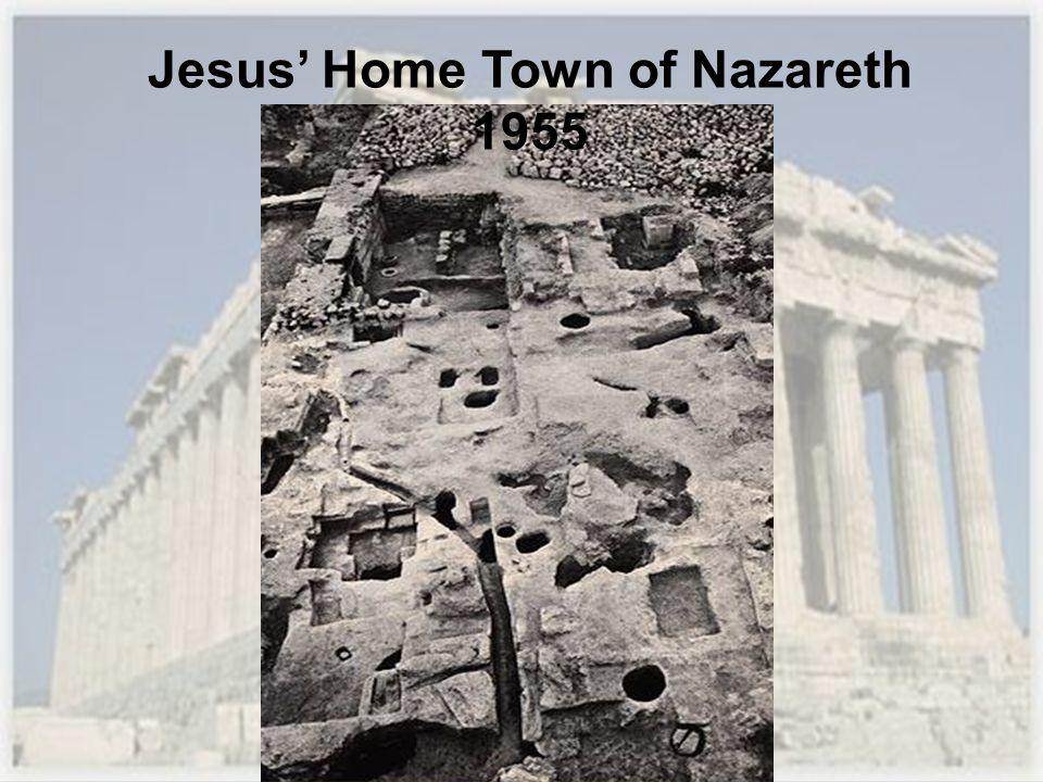 Jesus Home Town of Nazareth 1955