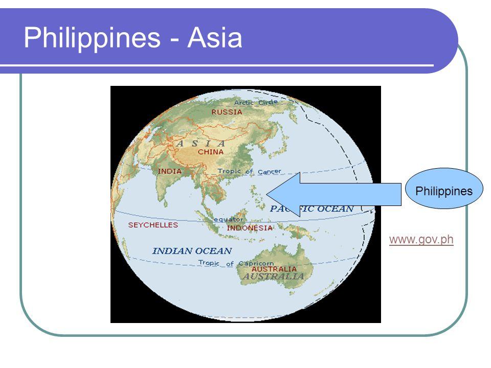 Philippines - Asia Philippines www.gov.ph
