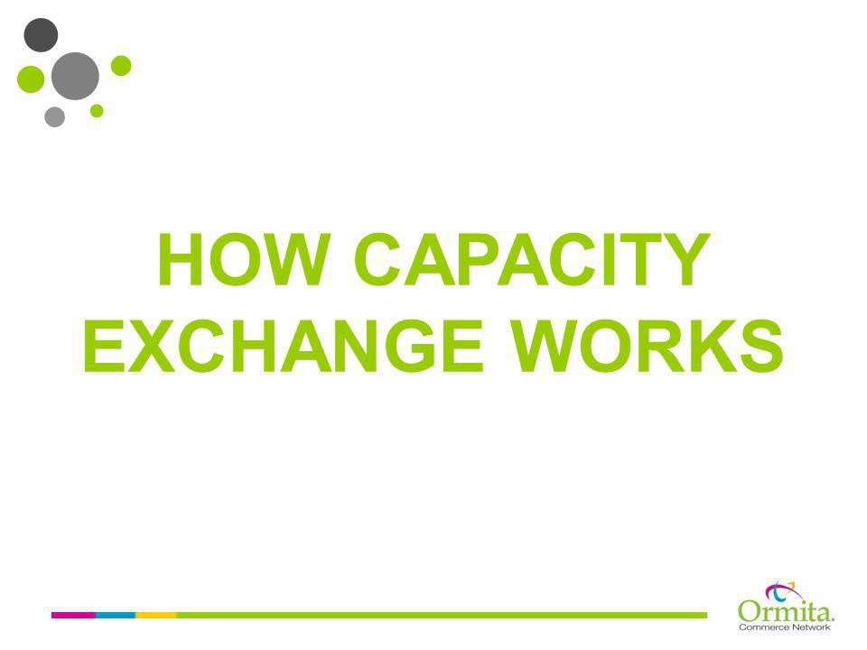 HOW CAPACITY EXCHANGE WORKS
