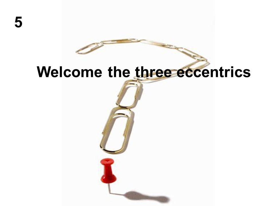 Welcome the three eccentrics 5
