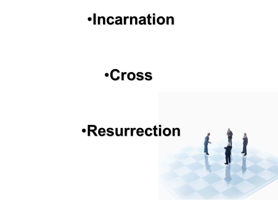 IncarnationIncarnation CrossCross ResurrectionResurrection