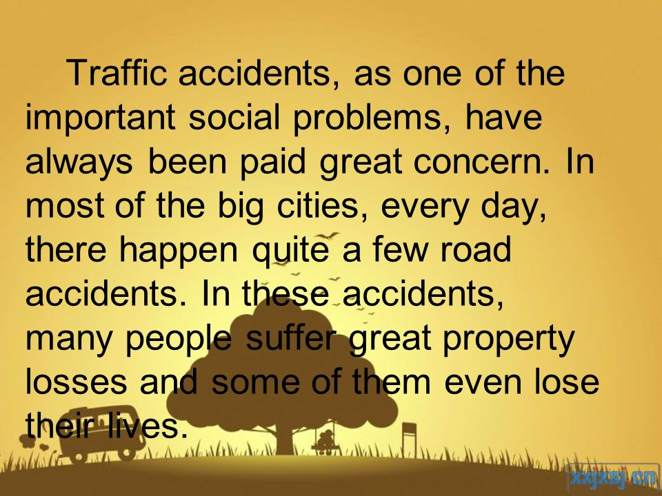 Traffic accidents, as one of the important social problems, have always been paid great concern. In most of the big cities, every day, there happen qu