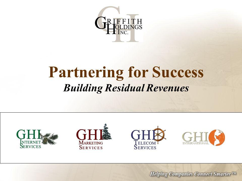 Partnering for Success Building Residual Revenues