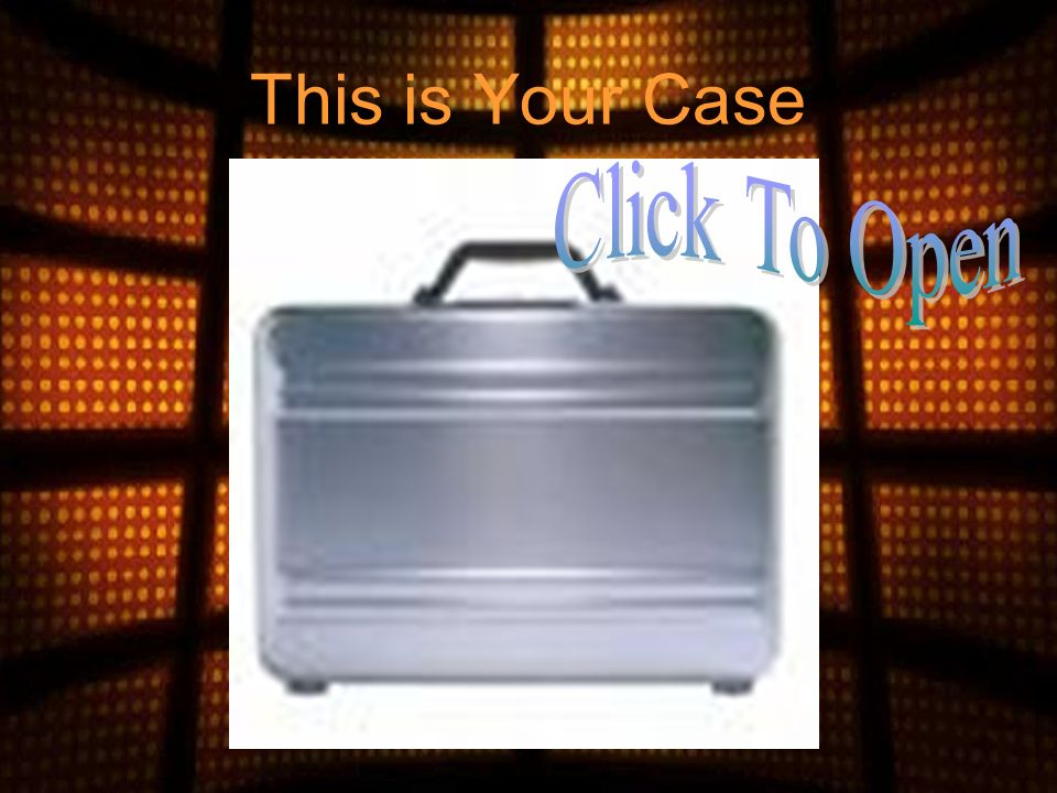 Pick a Suitcase