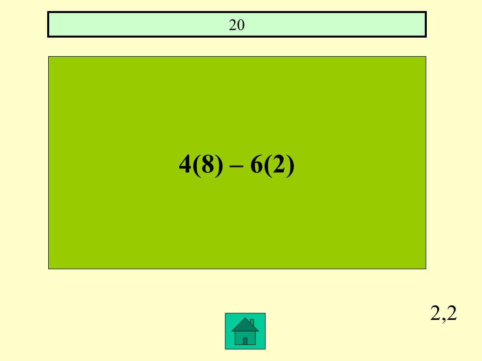 2,1 ( ¾)³ 27/64