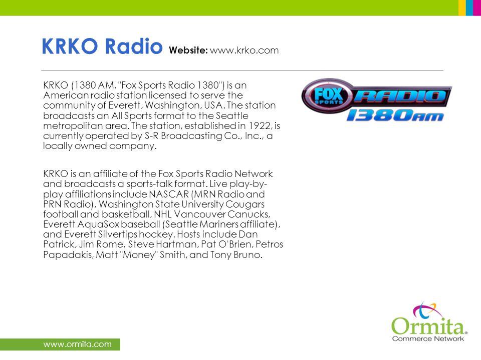 www.ormita.com KRKO Radio Website: www.krko.com KRKO (1380 AM,