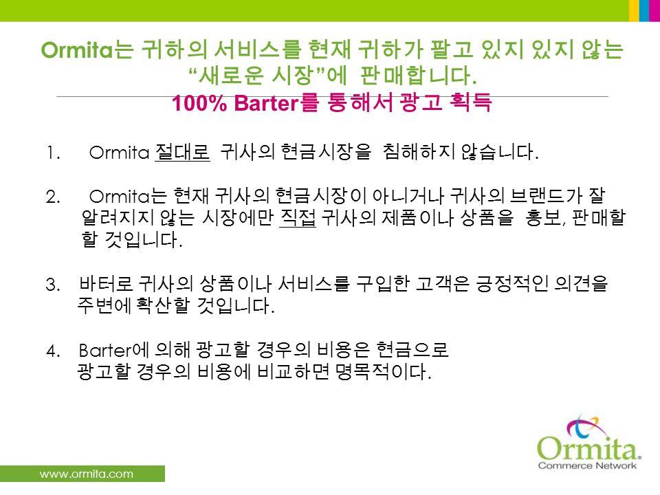www.ormita.com 1. Ormita. 2. Ormita,. 3.. 4.Barter. Ormita. 100% Barter